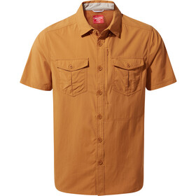 Craghoppers NosiLife Adventure Shirt Korte Mouwen Heren, cumin